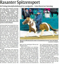 Rasanter Spitzensport